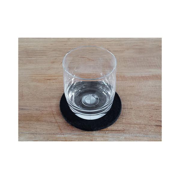 3D Trinkglas BMW Logo 0,2l