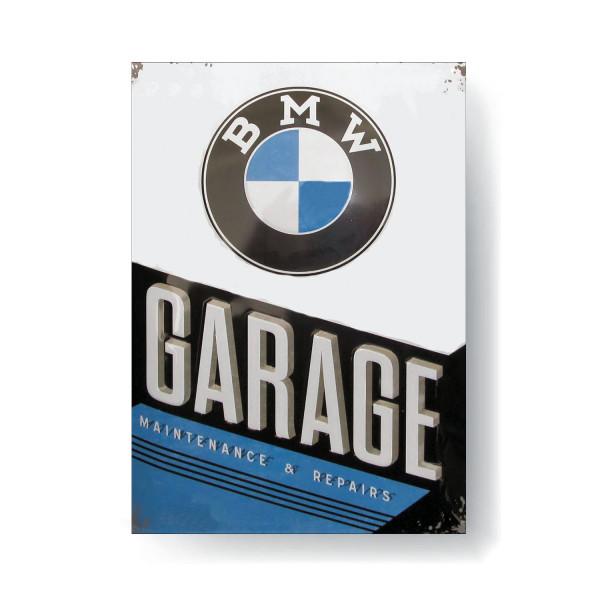 BMW Magnet Garage 8x6 cm