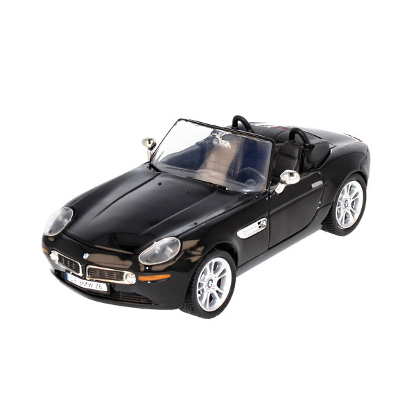BMW Z8 Roadster black, 1:24
