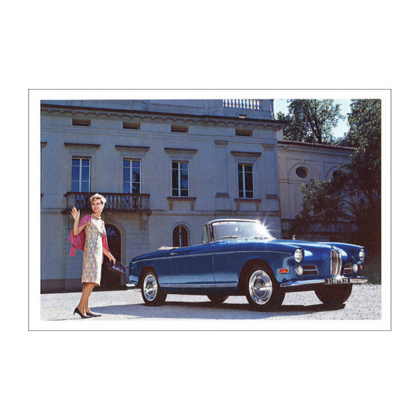 Postkarte BMW 503 Cabrio
