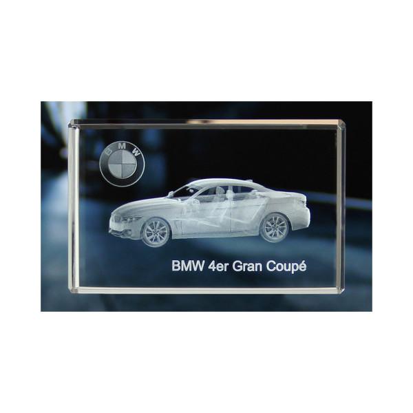 Standard 3D Glaskristall BMW 4er Gran Coupe