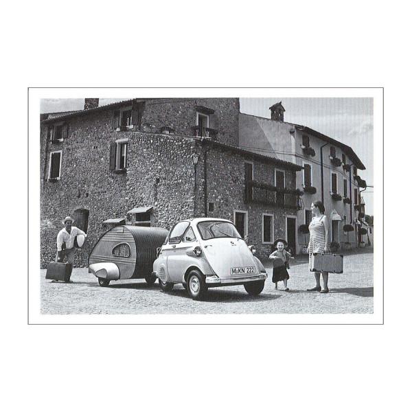 Postkarte BMW Isetta Standard