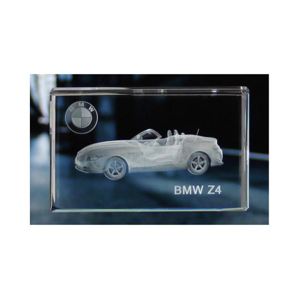 Standard 3D Glaskristall BMW Z4