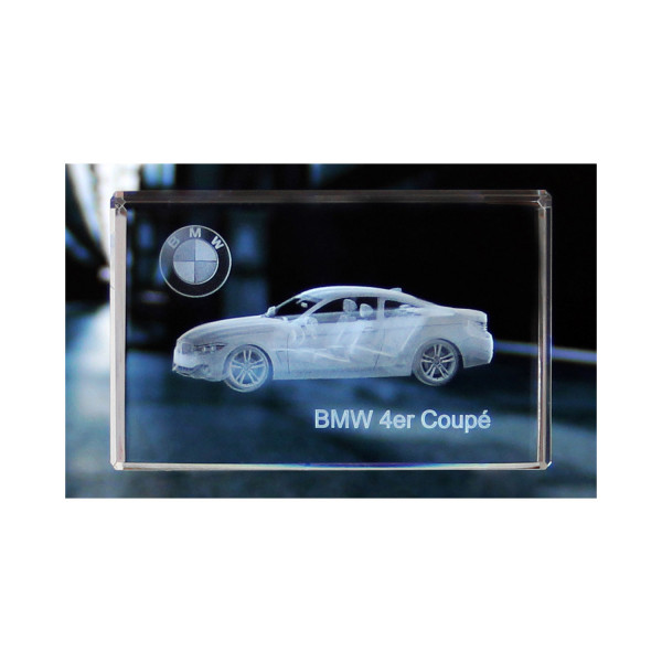 Standard 3D Glaskristall BMW 4er Coupe