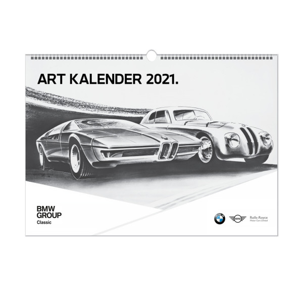 BMW Group Classic Art Kalender 2021