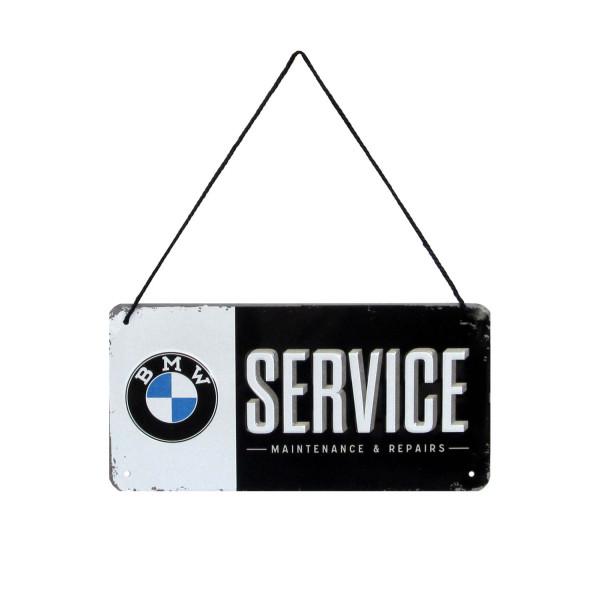BMW Blechschild Service