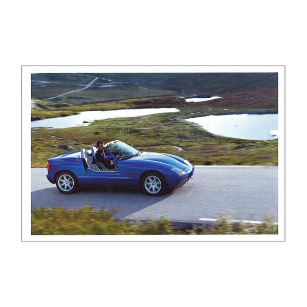 Postkarte BMW Z1