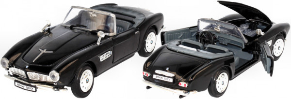 BMW 507 Roadster 1955 black, 1:24