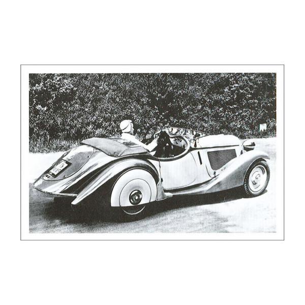 Postkarte BMW 315/1, 1934-1935 (sw)