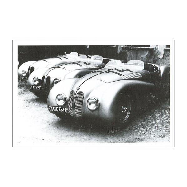 PK BMWM Drei BMW 328 Mille Miglia 1940 158x105