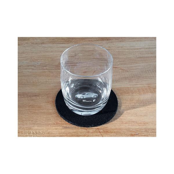 3D Trinkglas BMW i8 0,2l