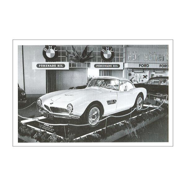 Postkarte BMW 507, 1956-1959 (sw)