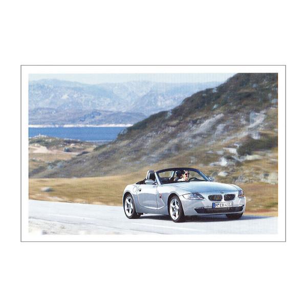 Postkarte BMW Z4 3.0si