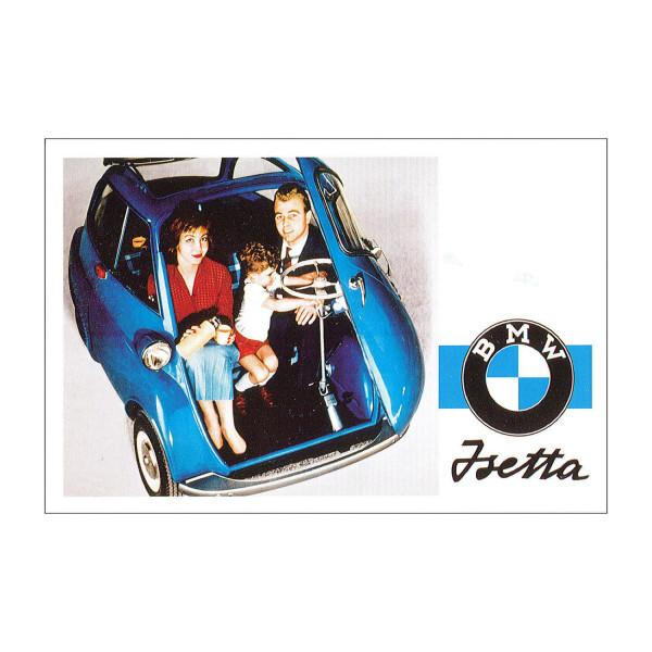 Postkarte BMW Isetta Export, 1956-1962