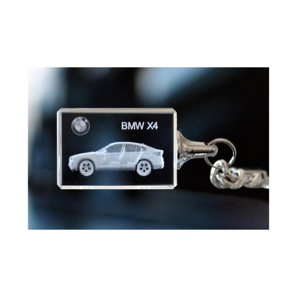 Standard 3D Keyring BMW X4
