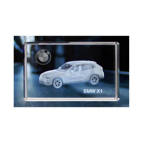 Standard 3D Glaskristall BMW X1