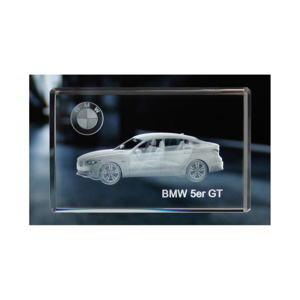 Standard 3D Glaskristall BMW 5er Gran Turismo