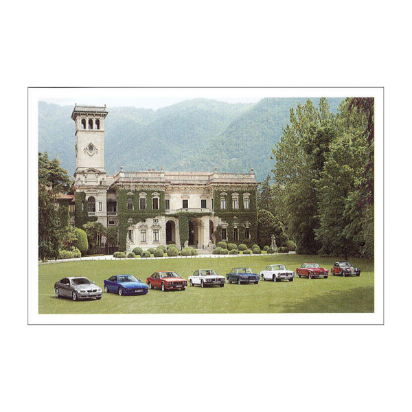 Postkarte BMW 335i, 850CSI, 628CSi u.a.