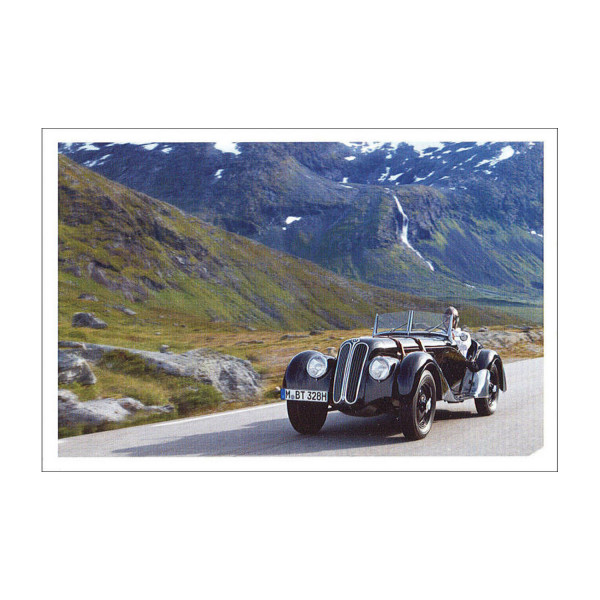 Postkarte BMW 328