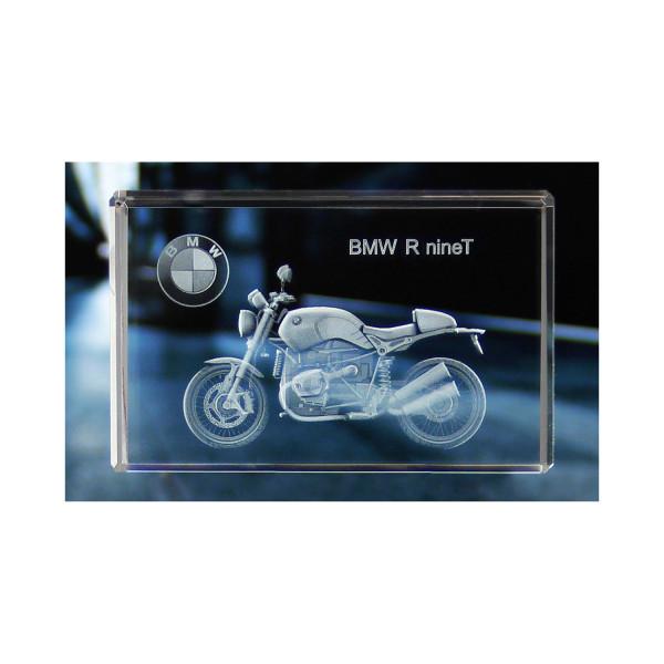 Standard 3D Glaskristall BMW Motorrad R Nine T