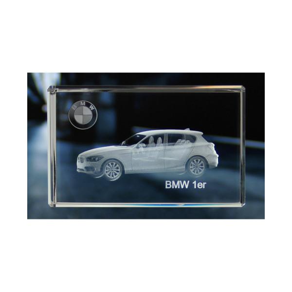 Standard 3D Glaskristall BMW 1er 5 Türer