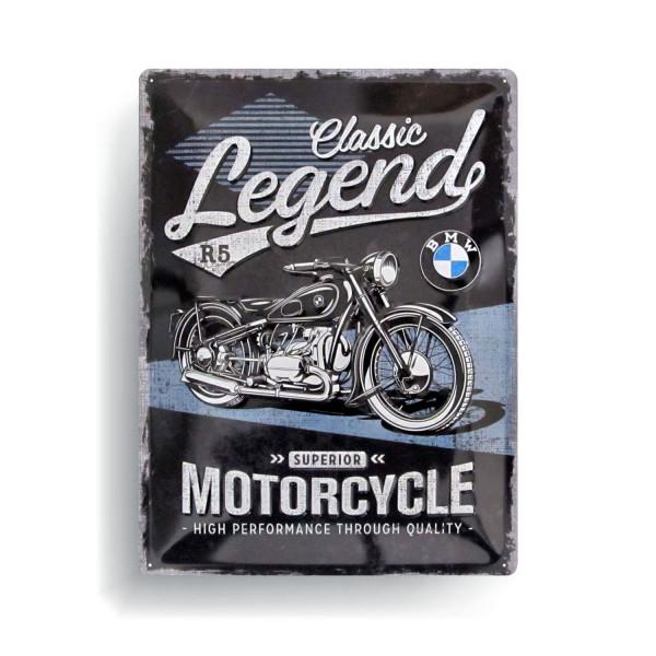BMW Blechschild Classic Legend