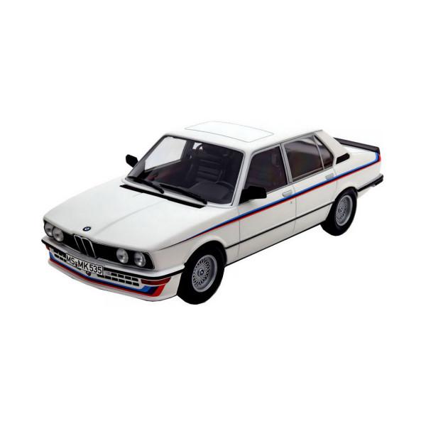 BMW 535i (E12) 1988 weiß, 1:18