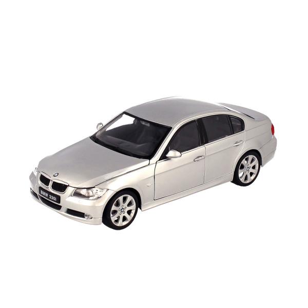 BMW 330i silver, 1:24