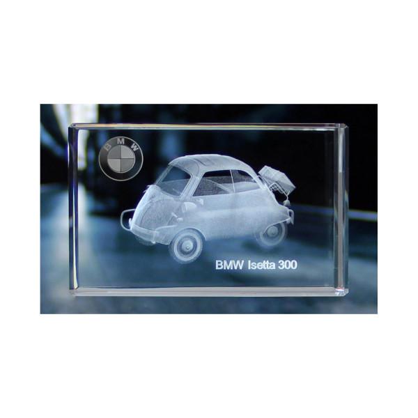 Standard 3D Glaskristall BMW Isetta 300