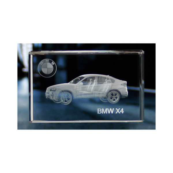 Standard 3D Glaskristall BMW X4