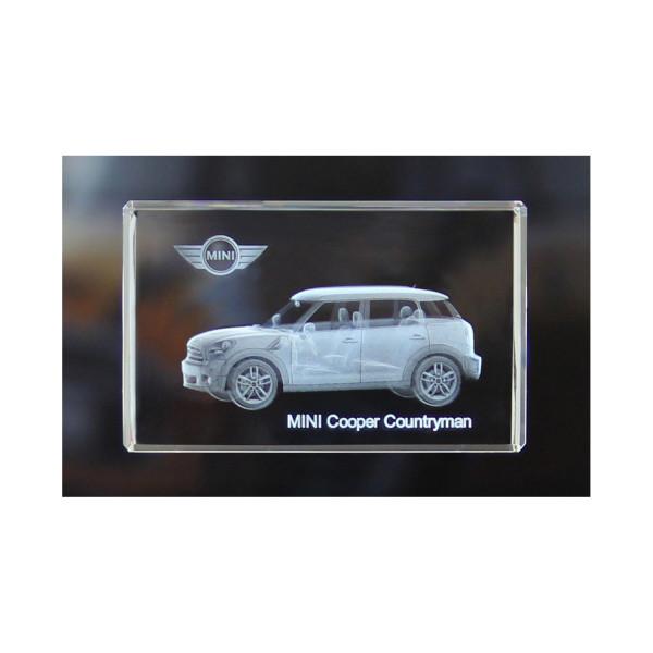 Standard 3D Glaskristall MINI Cooper Countryman