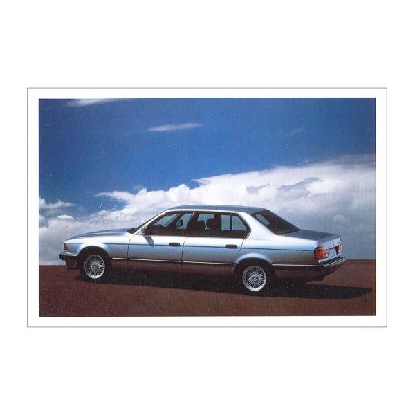 Postkarte BMW 750i, 1987-1994
