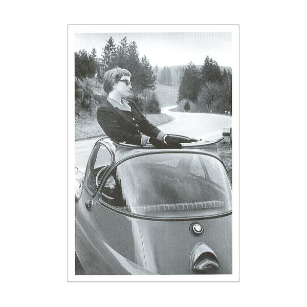 Postkarte BMW Isetta 250 Standard, 1955-56 (sw)