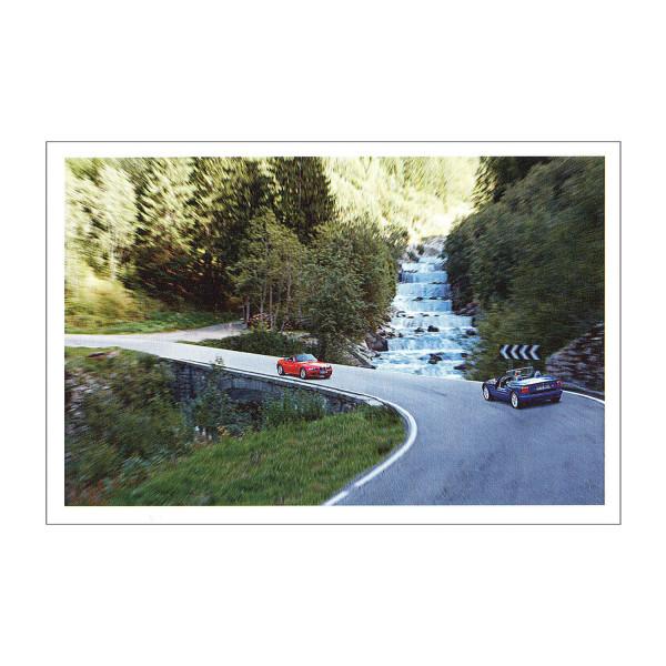 Postkarte BMW Z3, BMW Z1