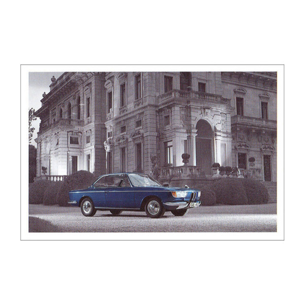 Postkarte BMW 2000 CS