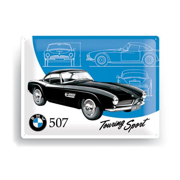 BMW Blechschild Classics 507