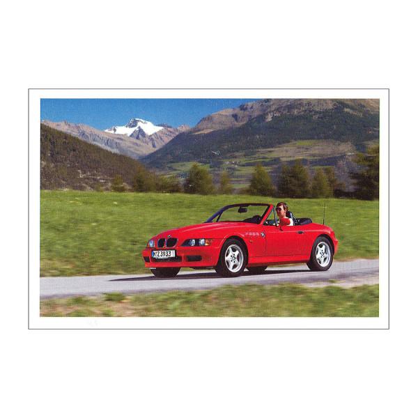 Postkarte BMW Z3