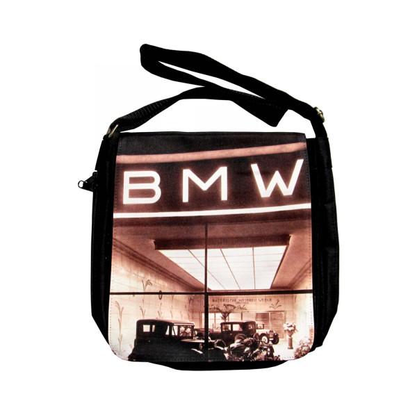Schultertasche BMW Mus Verkauf+Ausstellung 1929
