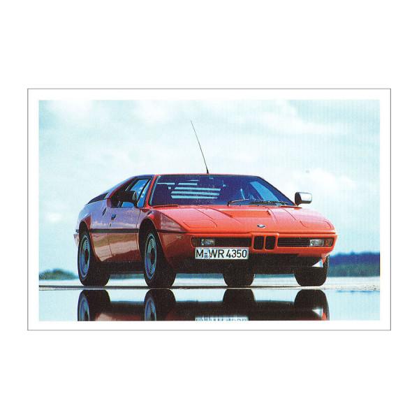 Postkarte BMW M1, 1978-1981