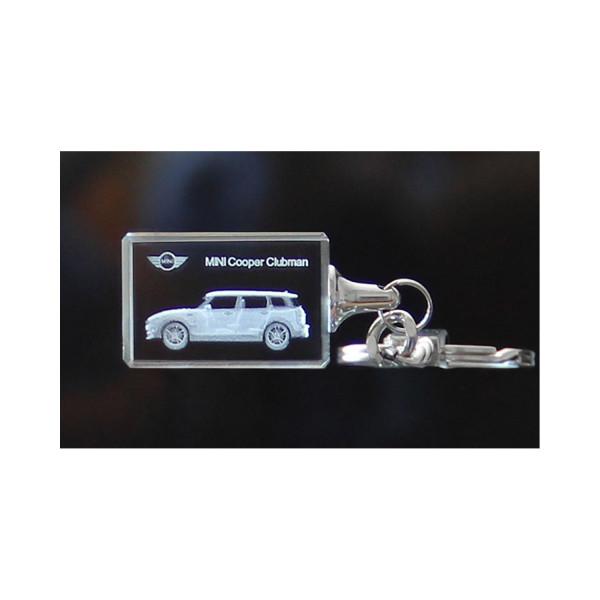 Standard 3D Keyring MINI Cooper Clubman