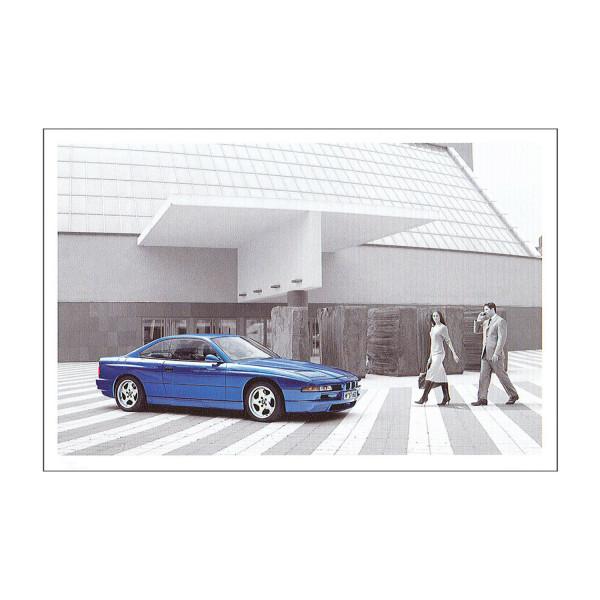 Postkarte BMW 850CSi