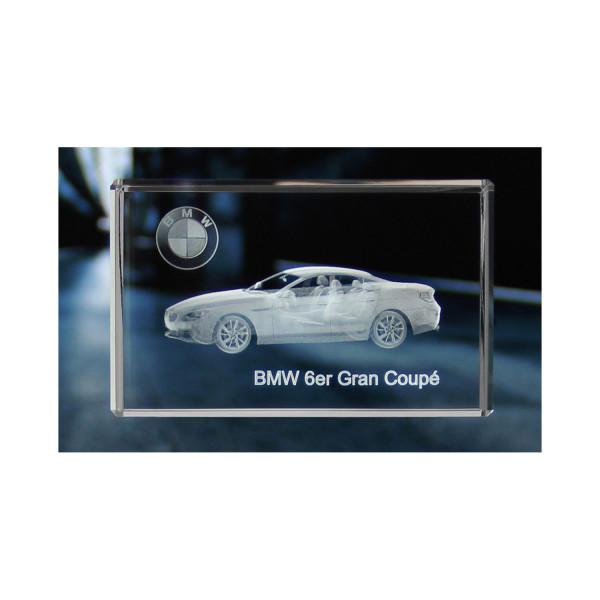 Standard 3D Glaskristall BMW 6er Gran Coupe