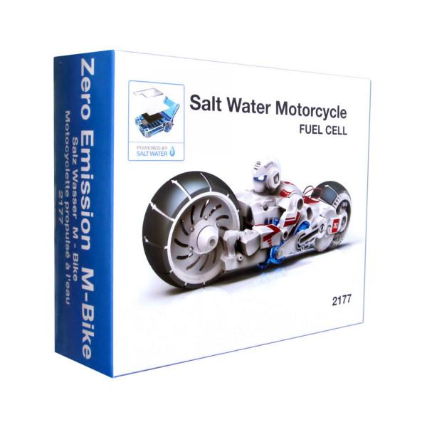 Salz Wasser Motorrad