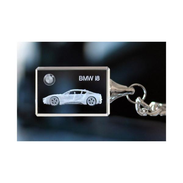 Standard 3D Keyring BMW i8