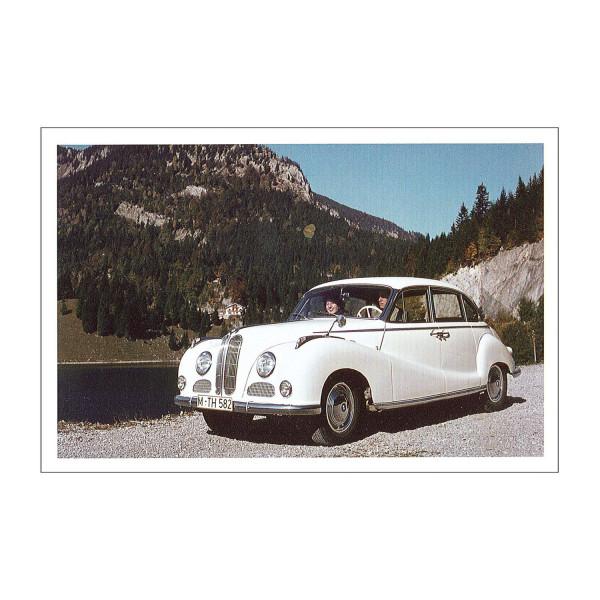 Postkarte BMW 2600L / 3200L / 3200S, 1961-63