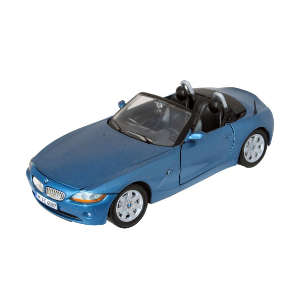 BMW Z4 - metallicblau 1:24