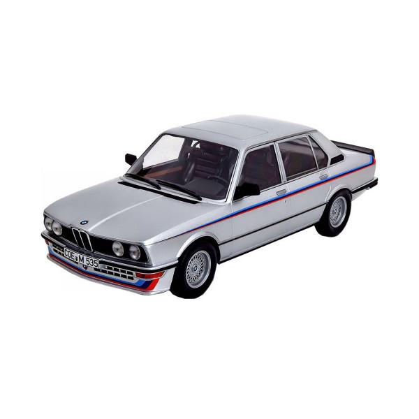 BMW 535i (E12) 1988 silbergrau, 1:18