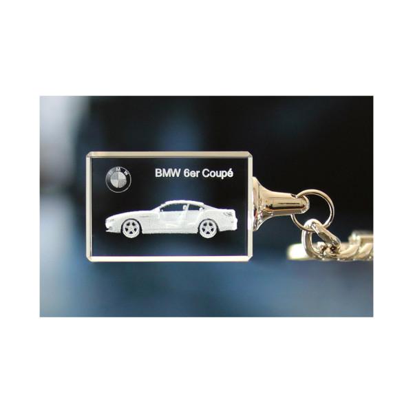 Standard 3D Keyring BMW 6er Coupe